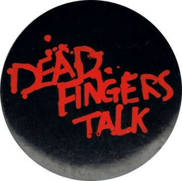 Dead Fingers Talk badge