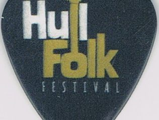Hull Folk Festival plectrum