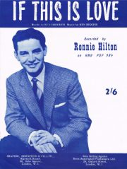 Ronnie Hilton sheet music