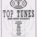 Top Tunes record shop press ad