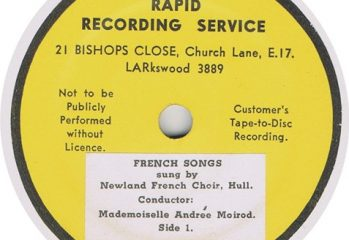 Newland French Choir - French Songs