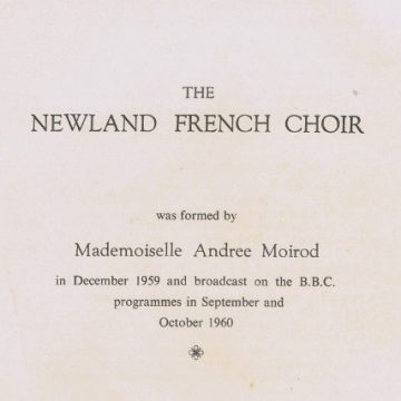 Newland French Choir