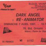 Re-Animator ticket Paris