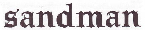 Sandman magazine logo
