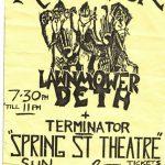 Re-Animator Flyer Spring Street Theatre