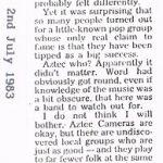 Dingwalls - Aztec Camera review