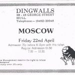 Dingwalls - Moscow ad