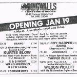 Dingwalls opening press ad