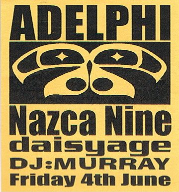 Nazca Nine @ Adelphi Jun 1999