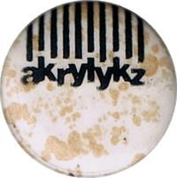 Akrylykz pin badge