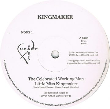 Kingmaker - The Celebrated Working Man EP
