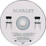 Scarlet - Love Hangover CD single