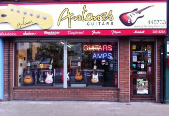 Antone's Guitars, Beverley Road, Hull