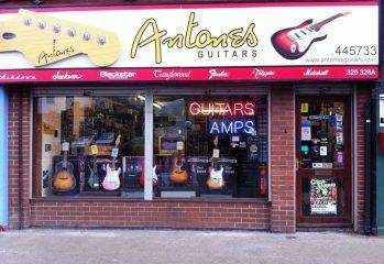 Antone's Guitars, Beverley Road, Hull