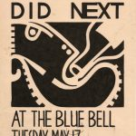 WKDN gig poster (1988)