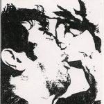 WKDN gig poster (1990)